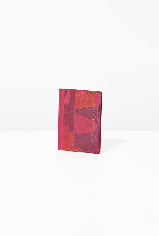 Card Wallet / Camo-Rose