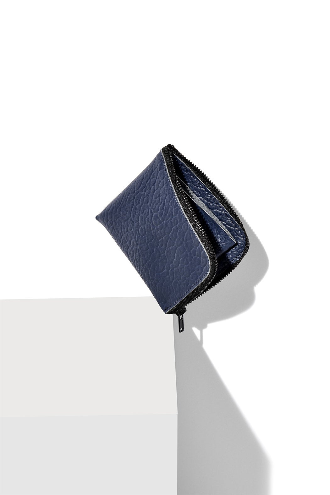 Half-Zip Wallet / COBALT BLUE BUFFALO
