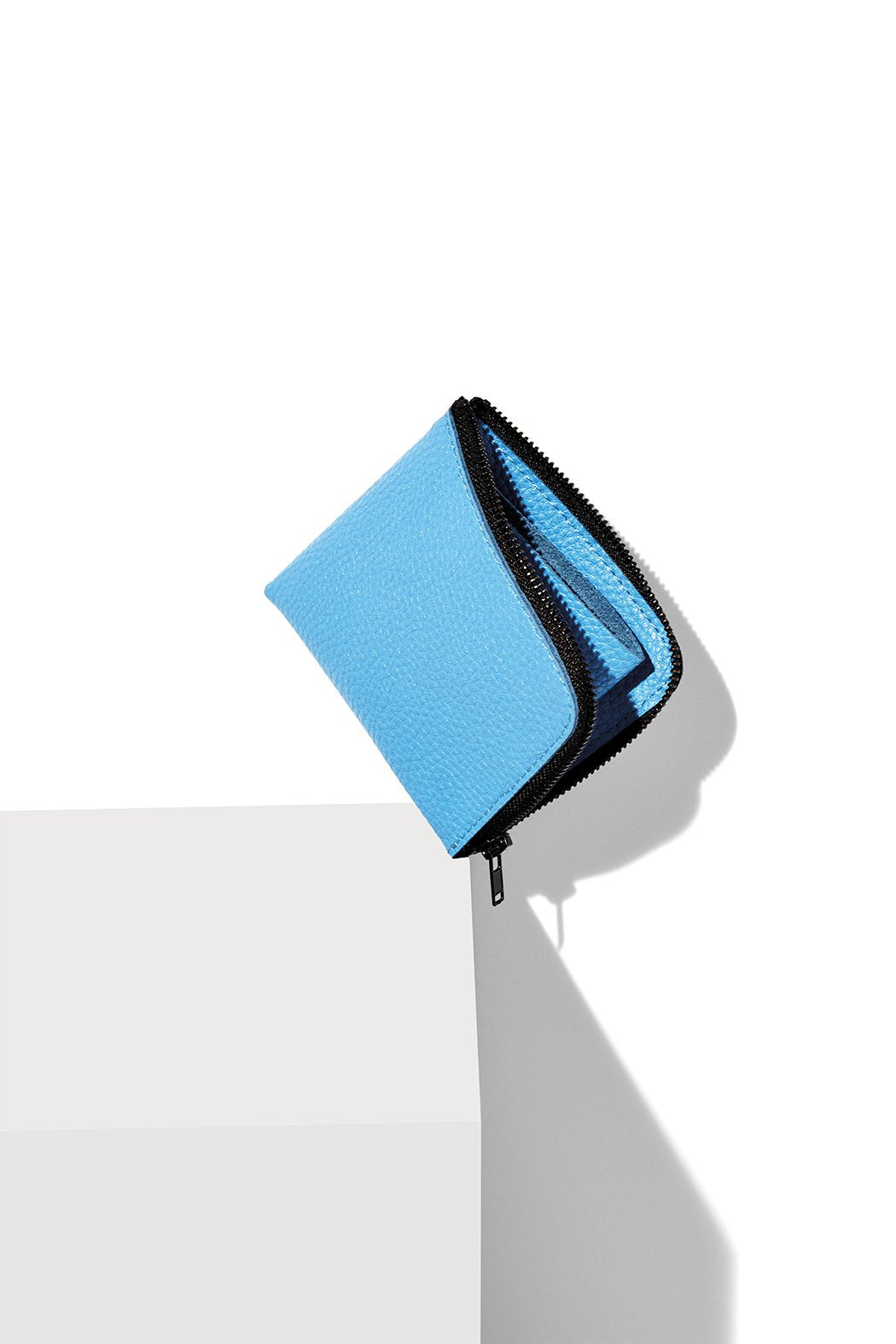Half-Zip Wallet / CERULEAN BLUE