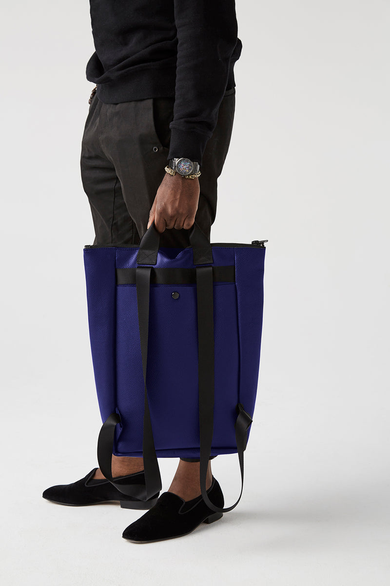 Backpack-Tote / DEEP BLUE