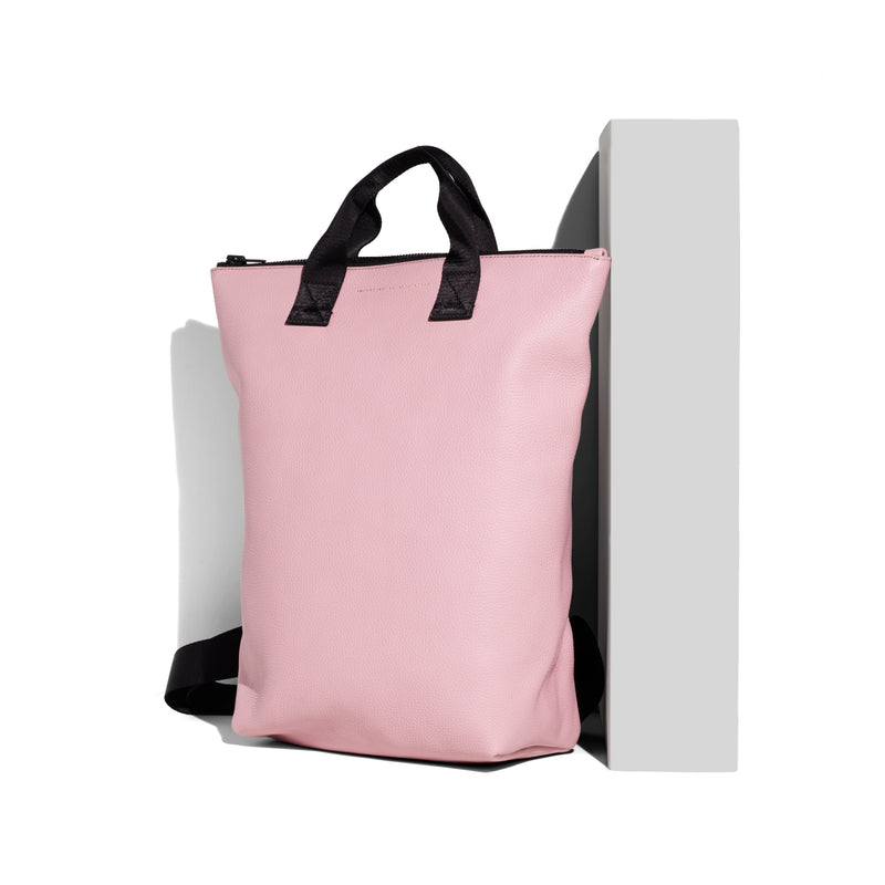 Backpack-Tote / PINK CAMEO