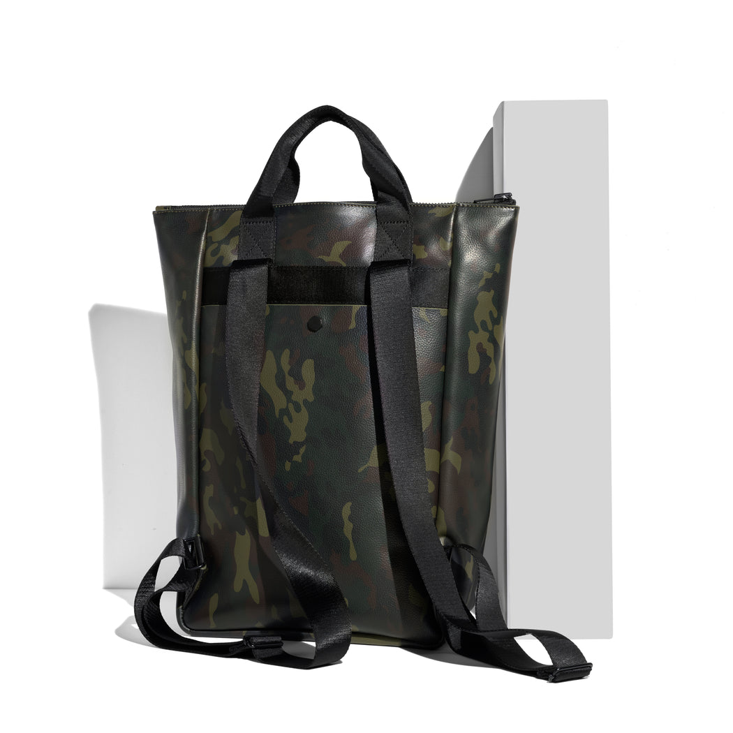 Backpack-Tote / GREEN CAMO