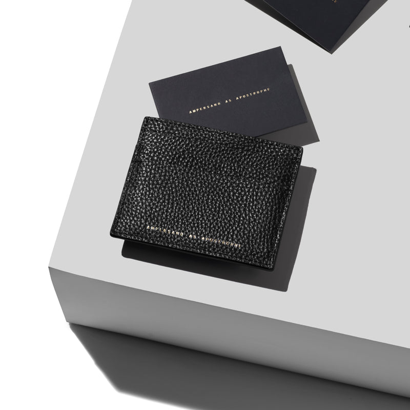 Card Wallet / BLACK LUX