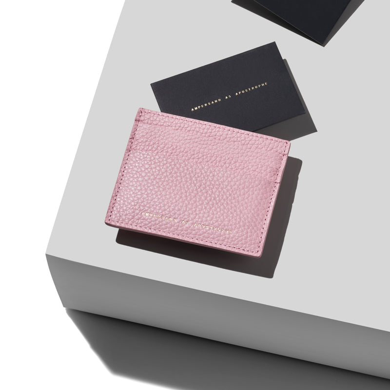 Card Wallet / PINK CAMEO