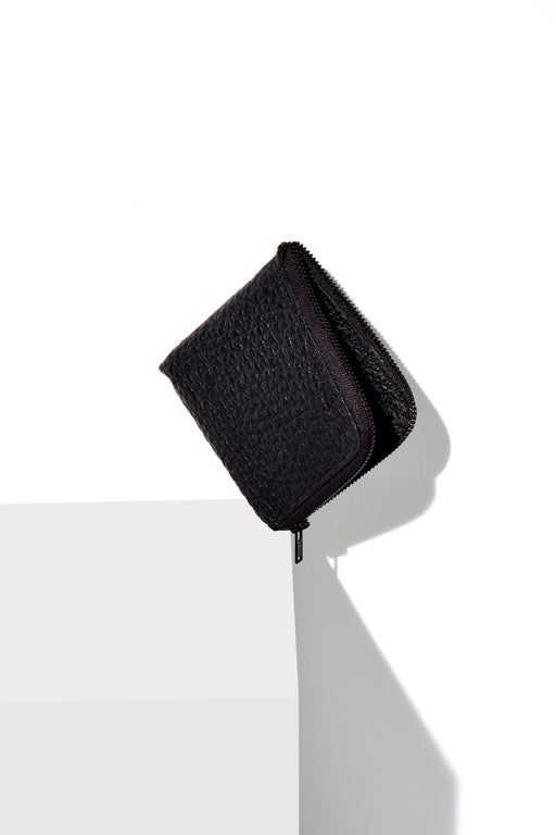 Half-Zip Wallet / Black Buffalo