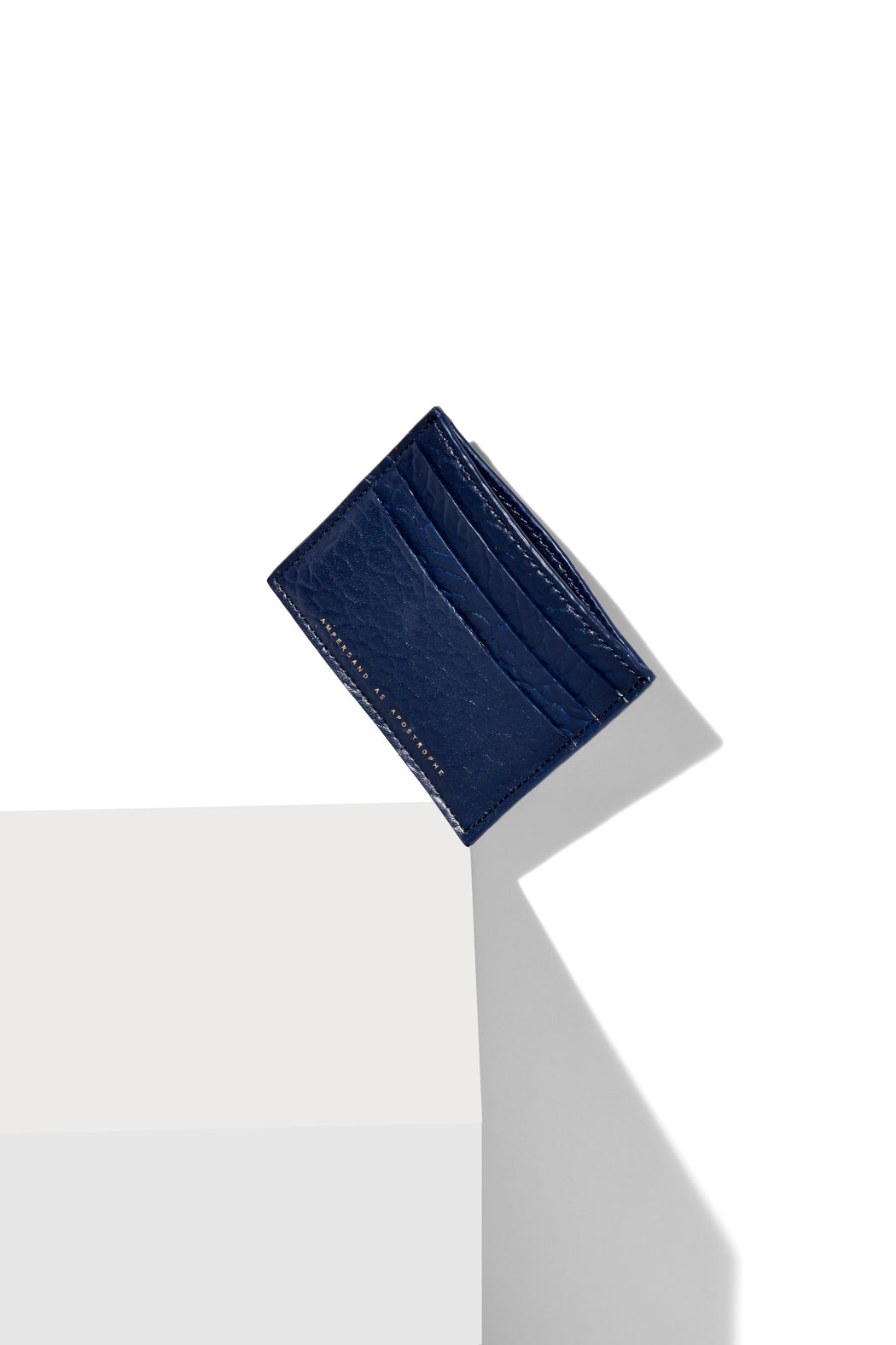 Card Wallet / Cobalt Blue Buffalo
