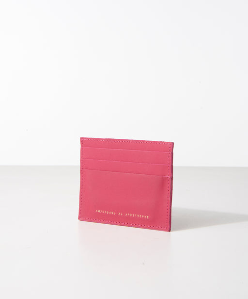 Card Wallet / Bright Rose