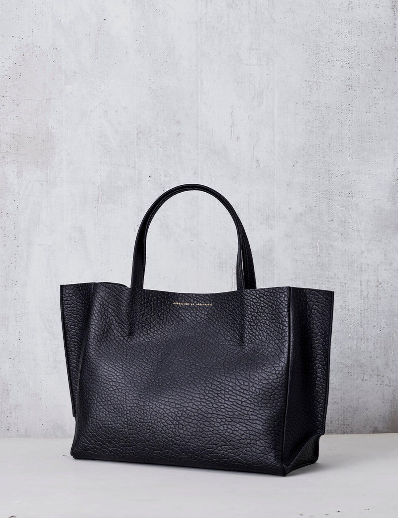 Sideways Tote / Black Buffalo