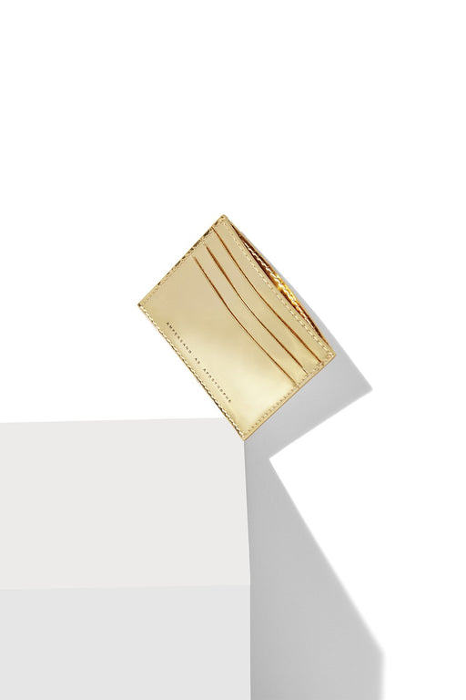 Card Wallet / Gold Mirror