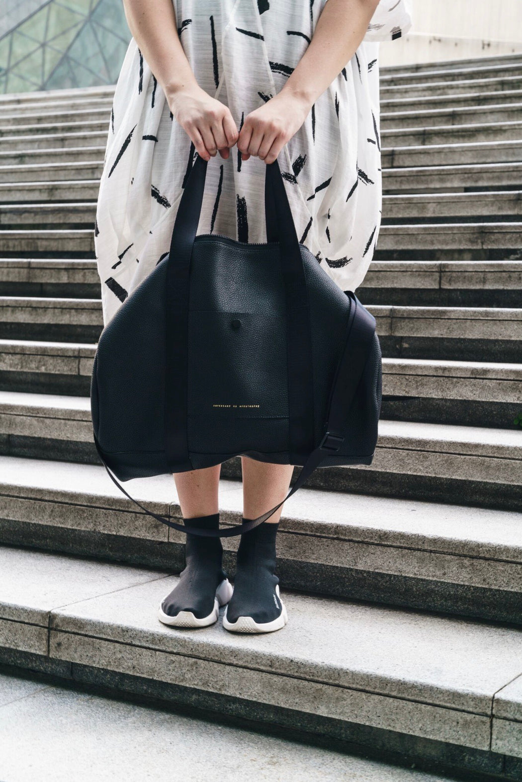 The O.G. Duffle / Black Lux