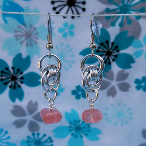 Pink Quartz Ocean Waves