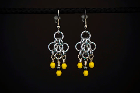Yellow Czech and Hematite