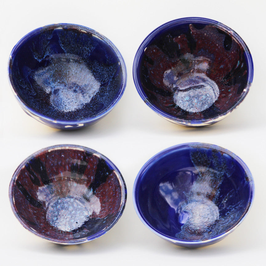 Hushed Brilliant Blue Set of 4