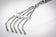 Heavy Duty Silver Fingers back scratcher is tough and long, yet bendable to fit your back