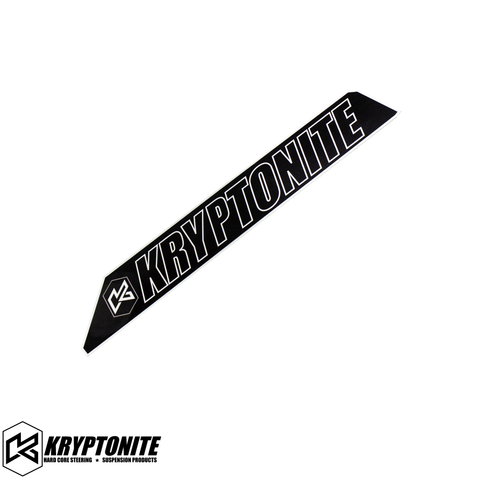 KRYPTONITE UPPER CONTROL ARM LOGO PLATE