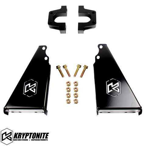 KRYPTONITE POLARIS RZR DEATH GRIP REAR SWAY BAR FRAME REINFORCEMENT KIT 2018-2021 TURBO S