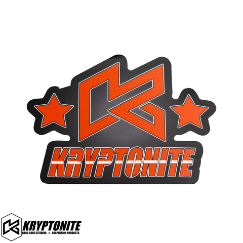 "KRYPTONITE ""K"" STARS STICKER"