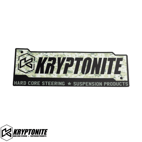 KRYPTONITE CAMO STAMP STICKER