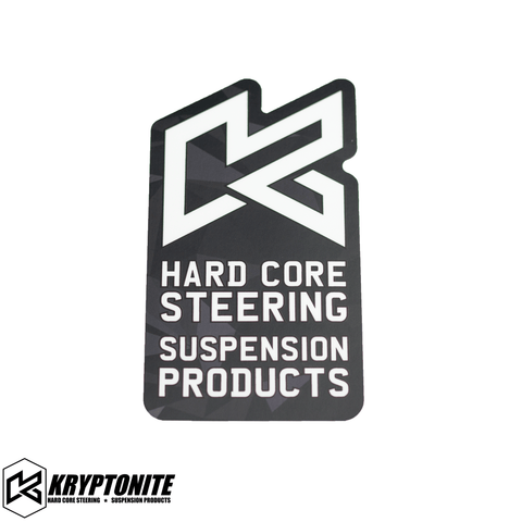 "KRYPTONITE HARDCORE ""K"" STICKER"
