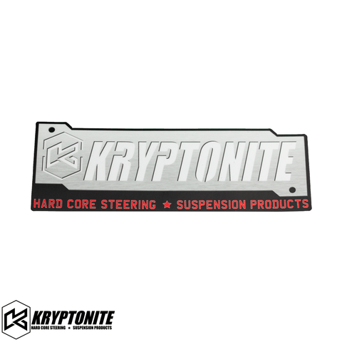 KRYPTONITE SILVER STAMP STICKER