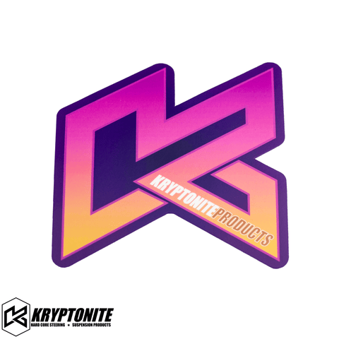 "KRYPTONITE SUNSET ""K"" STICKER"