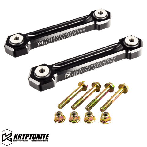 "KRYPTONITE POLARIS RZR DEATH GRIP REAR SWAY BAR END LINKS 2018-2021 TURBO ""S"""