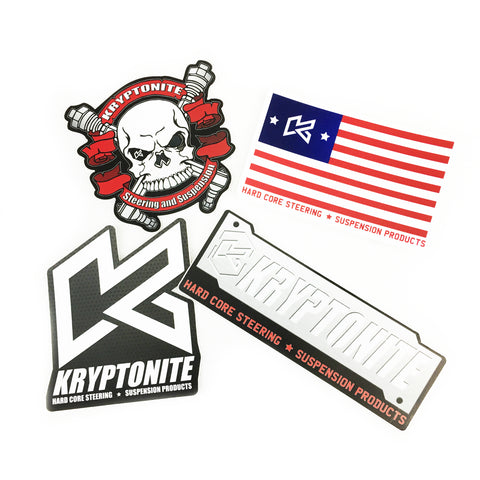 KRYPTONITE STICKER PACK