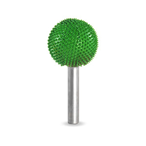 "1/4"" Shank Sphere 1"" (Coarse Grit) Green 14S1"