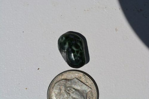 1.3G Isle Royale Greenstone, Pumpellyite,Chlorastrolite, Michigan State Gemstone