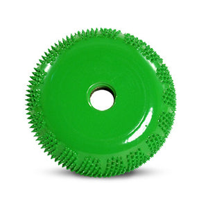 "2"" Buzzout Wheel 3/4"" (Coarse Grit) with 1/4"" Diameter Adapter Shaft Green BZ23470"