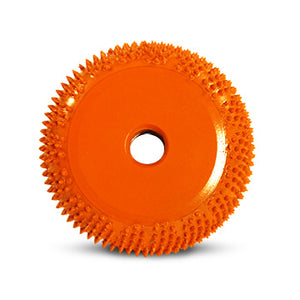 "2"" Buzzout Wheel 3/4"" (Ex-Coarse Grit) Adapter included 1/4"" shank Orange BZ23490"