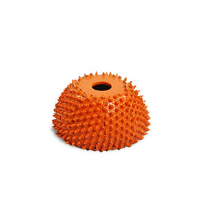 "1 3/4"" Power Carving Cup Rasp (Fine Grit) with 1/4"" Diameter Adapter Shaft Yellow CR13450"