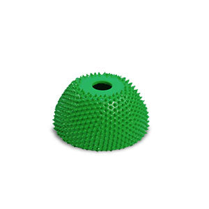 "1 3/4"" Power Carving Cup Rasp (Coarse Grit) with 1/4"" Diameter Adapter Shaft Green CR13490"