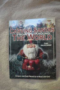 Details about  CARVING SANTAS FROM AROUND THE WORLD - CYNDI JOSLYN-CARHART (PAPERBACK) NEW