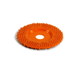"2"" Flat Grooving Wheel (Ex-Coarse Grit ) with 1/4"" Adapter Orange FD290"