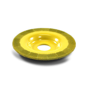 "4"" Flat Face Grooving Disc (Fine Grit) 7/8"" Bore Yellow FD450"