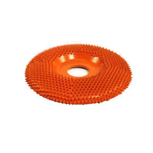 "4"" Disc Wheel Flat Face (Ex-Coarse Grit) 7/8"" Bore Orange SD4125"