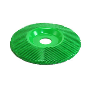 "5"" Disc Wheel Flat Face (Coarse Grit) 7/8"" Bore Green SD590"