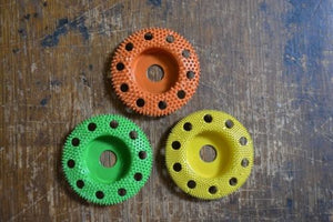 "Set of 3 Sanding Disc 2"" with Holes 3/8 Diameter Bore SD250H SD270H SD290H"