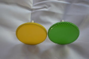 "Set of 2 1/4"" Rotosaw 2"" (Coarse Grit) & (Fine Grit)  Green & Yellow 14RS2"