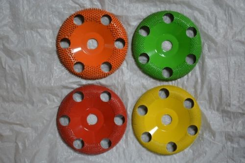 Set of 4 Donut Wheels W/Holes 5/8 Bore 4