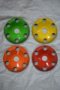 "Set of 4 Donut Wheels W/Holes 7/8 Bore 4"" Diameter DW450H DW570H DW490H DW4125H"