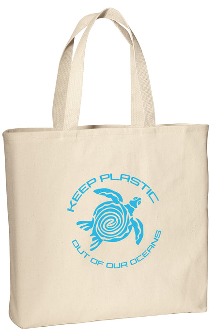 Keep Plastics Out of Our Oceans Convention Tote