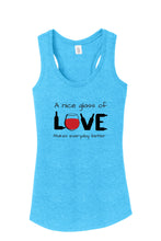 Love & Wine Bottles Women's Tank Top