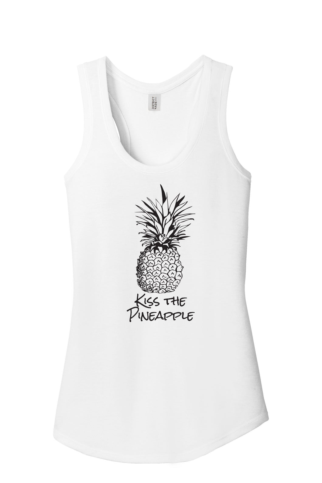 Kiss the Pineapple Women's Tank Top