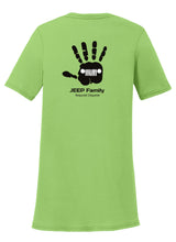 Jeep Wave Family Womens T-Shirt