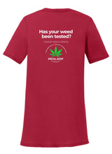 Official Weed Tester Womens T-Shirt