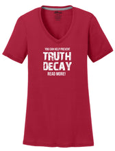 Truth Decay Womens T-Shirt