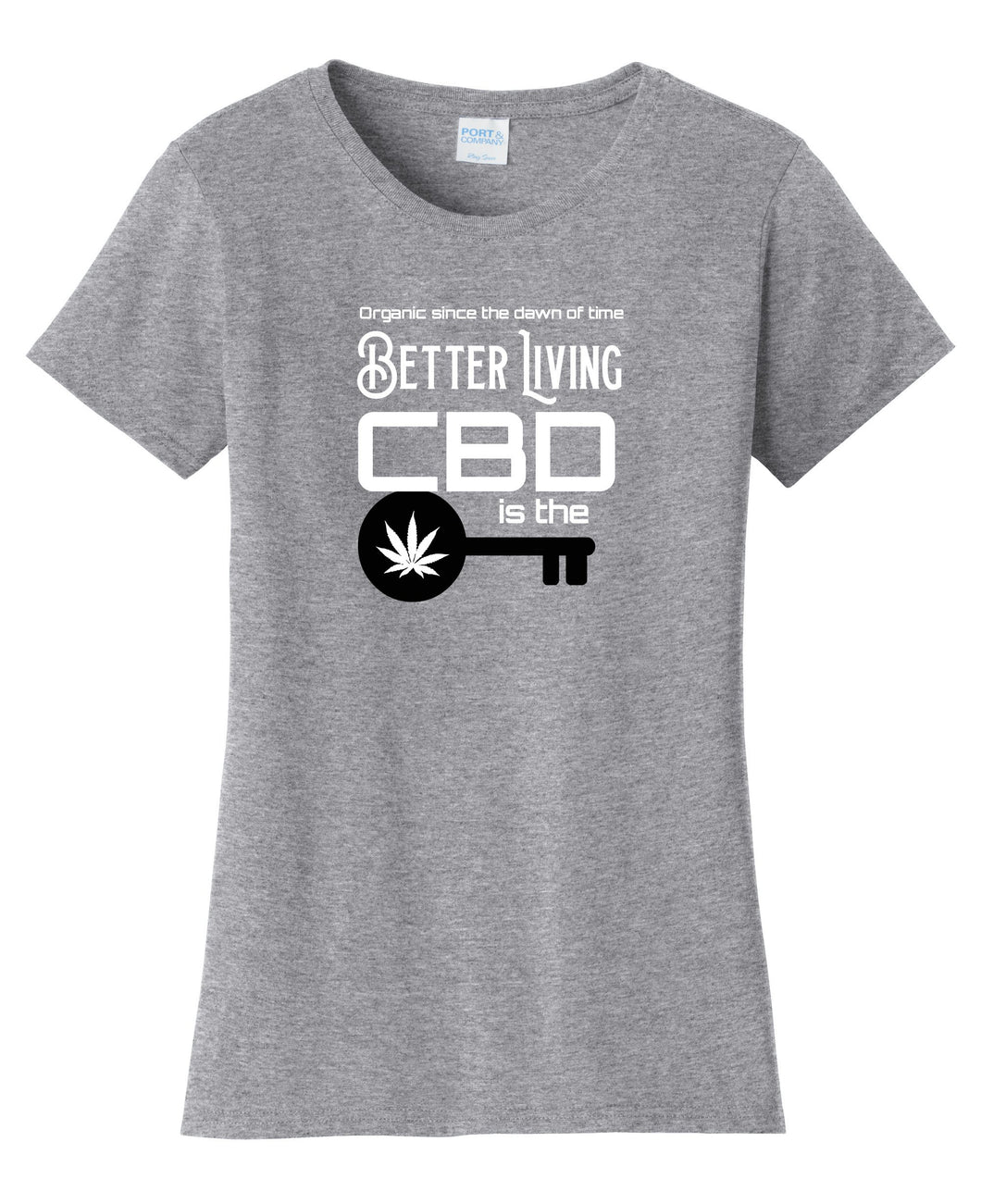 CBD Key to Better Living Womens T-Shirt