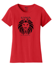 Ganja Lion Womens T-Shirt